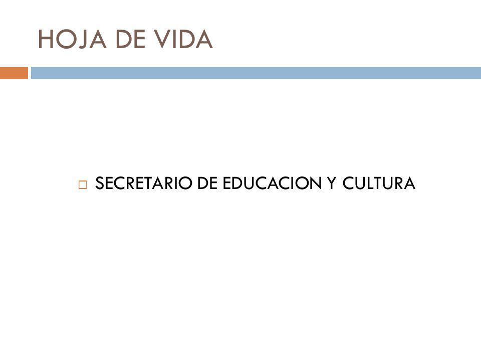 INFORME GESTION 2008 SECRETARIA DE EDUCACION Y CULTURA CALIDAD HUMANA PARA GOBERNAR