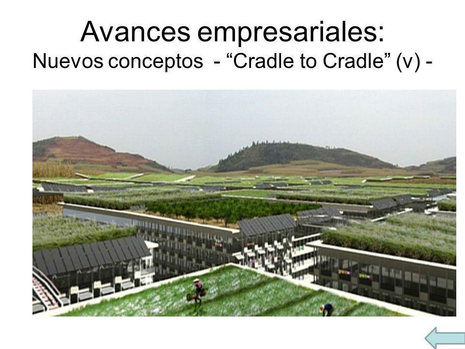 Avances empresariales: Nuevos conceptos - Cradle to Cradle (v) -