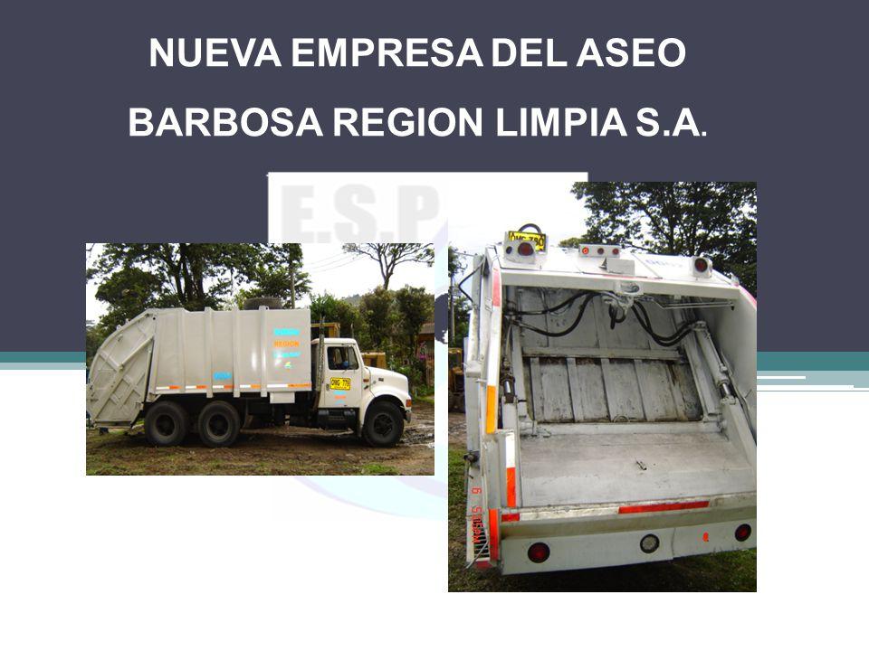 NUEVA EMPRESA DEL ASEO BARBOSA REGION LIMPIA S.A.