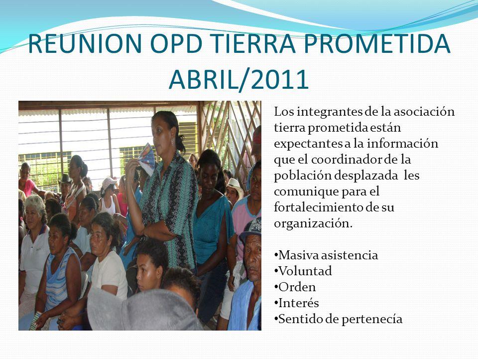REUNIÓN AFRODESCENDIENTES MAYO/ 2011