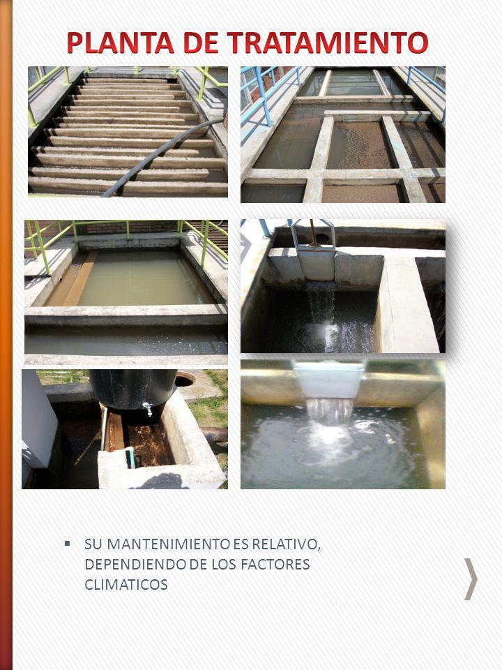 CAMBIO DE LECHOS FILTRANTES