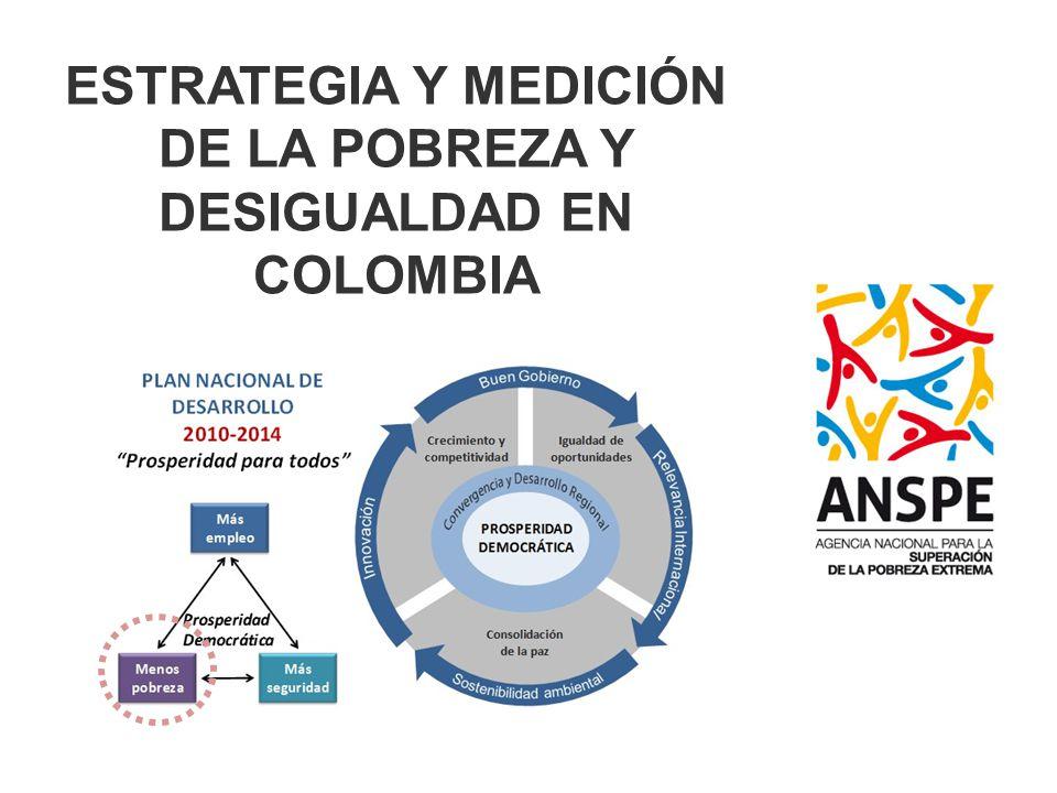 ESTRATEGIA Y MEDICIÓN DE LA POBREZA Y DESIGUALDAD EN COLOMBIA