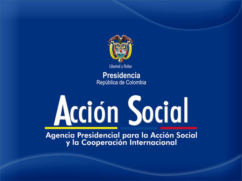 FUENTE: Rendición de cuentas 2011 Acción Social