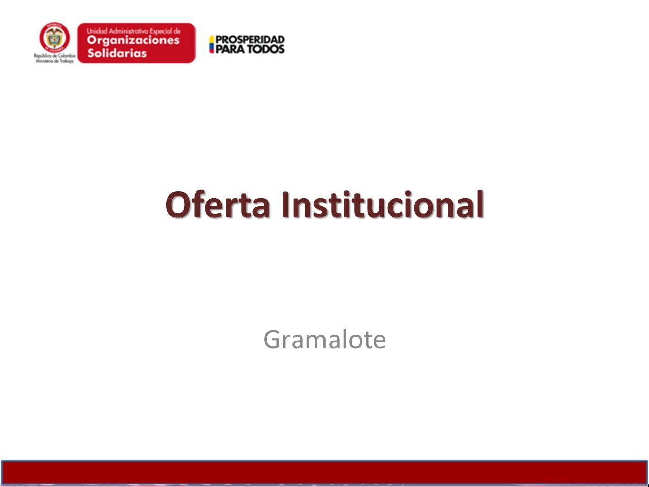 Oferta Institucional Gramalote