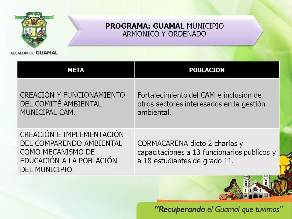 PROGRAMA: GESTION DE LA BIODIVERSIDAD METAPROYECTOACTIVIDADES DESARROLLO DE UN PROYECTO PARA RECONOCIMIENTO Y DELIMITACIÓN DE MÍNIMO TRES ECOSISTEMAS ESTRATÉGICOS.