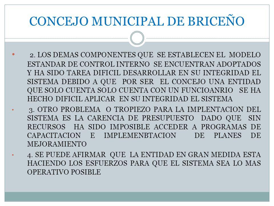 CONCEJO MUNICIPAL DE BRICEÑO 2.