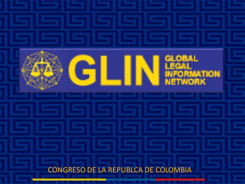 GLIN Es la respuesta a las necesidades que rigen tanto a entidades nacionales como a organizaciones gubernamentales en todo el mundo en el conocimiento de las leyes, reglamentos y demás fuentes jurídicas complementarias.