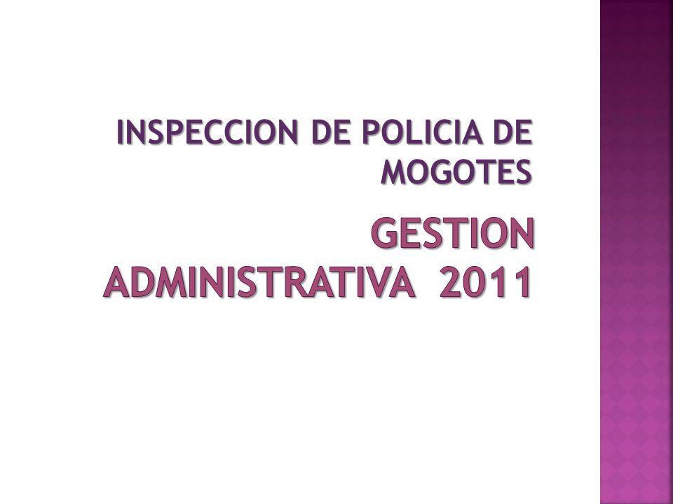 INSPECCION DE POLICIA DE MOGOTES
