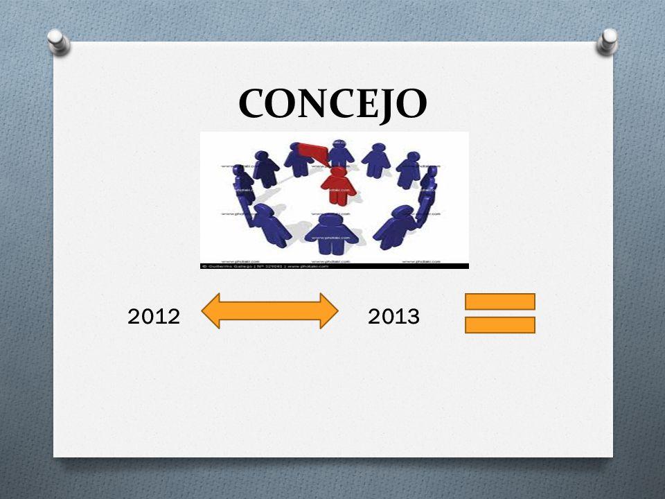 CONCEJO 2012 2013
