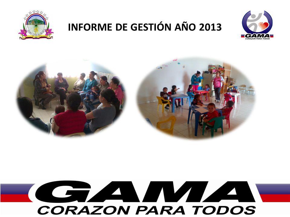 INFORME DE GESTIÓN AÑO 2013