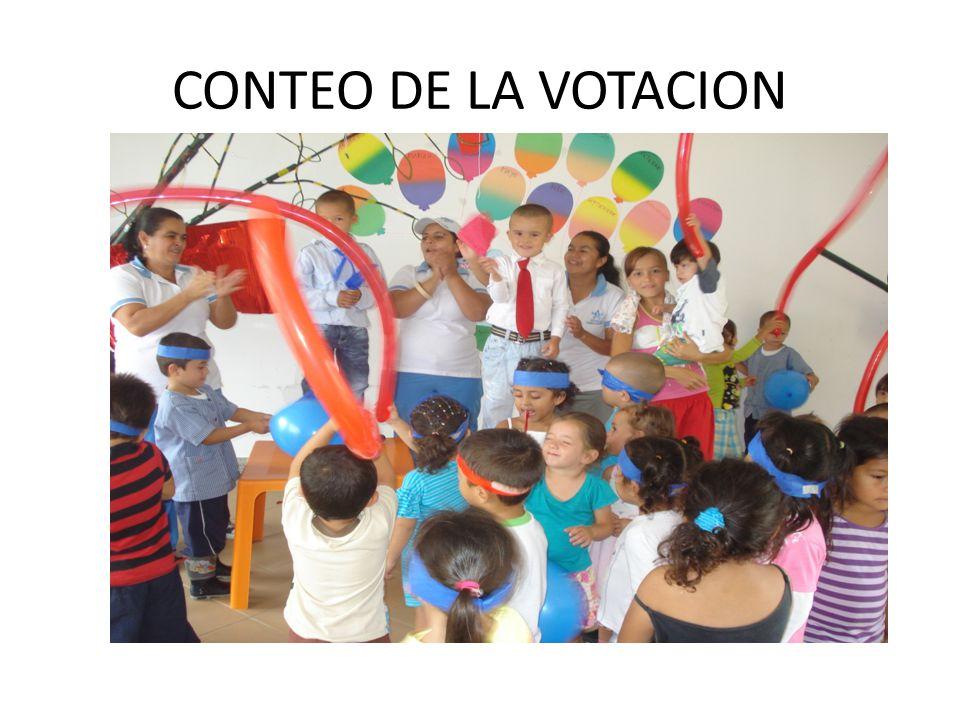 CONTEO DE LA VOTACION
