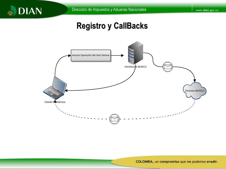 Registro y CallBacks