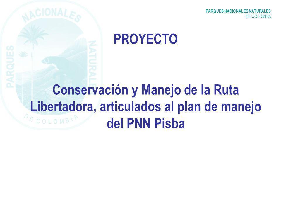 PARQUES NACIONALES NATURALES DE COLOMBIA AVANCES Visita reconocimiento de la Unidad a la Laguna de Socha y parte Tramo Ruta Libertadora (Oct.