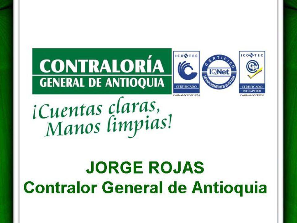 CONSOLIDADO DE AUDITORIAS, TRASLADOS Y CONTROLES DE ADVERTENCIA MUNICIPIO DE SAN JERÓNIMO