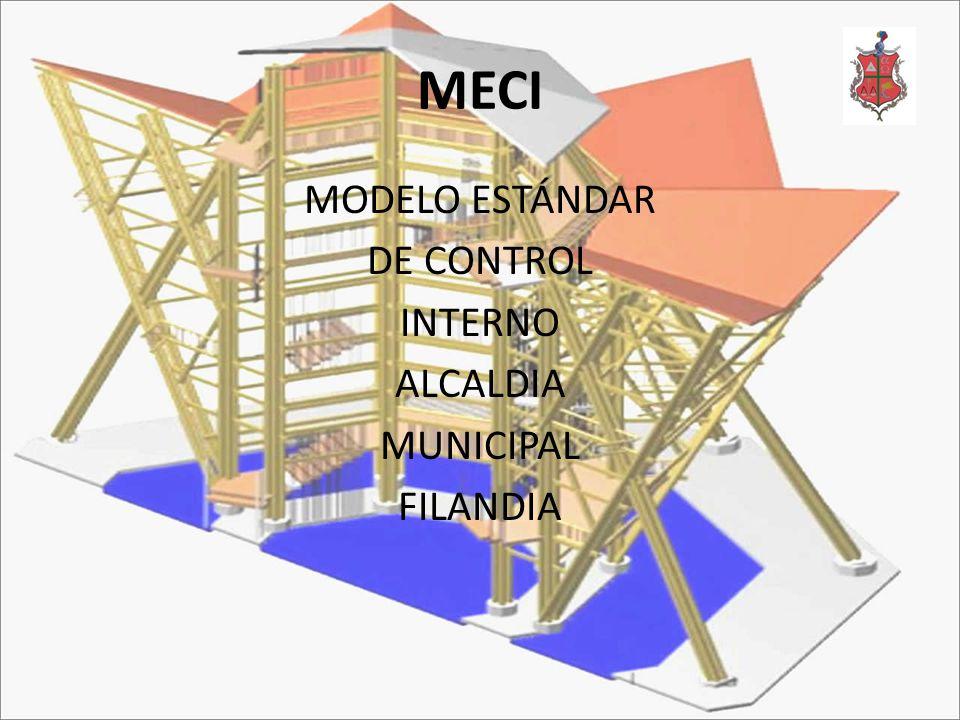 MECI MODELO ESTÁNDAR DE CONTROL INTERNO ALCALDIA MUNICIPAL FILANDIA