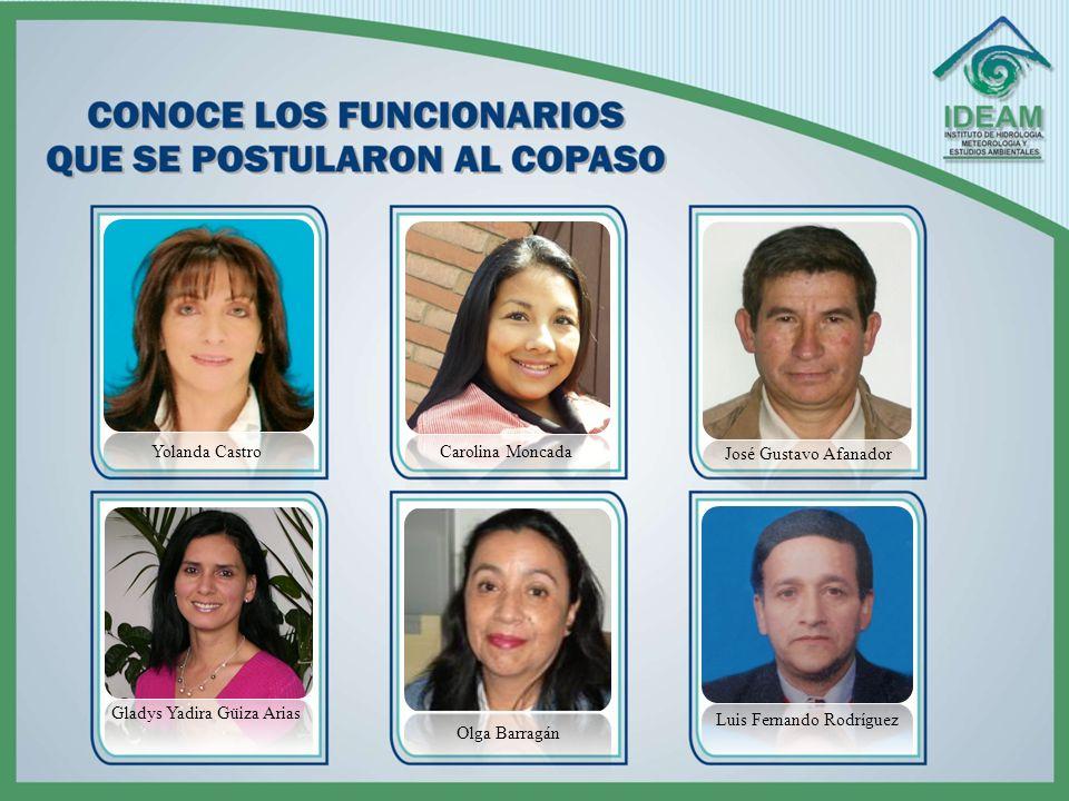 ELECCIONES COPASO CONTAMOS CON TU… ¡ VOTO ! Información adicional: Diana C. Angarita S. - Ext. 1121