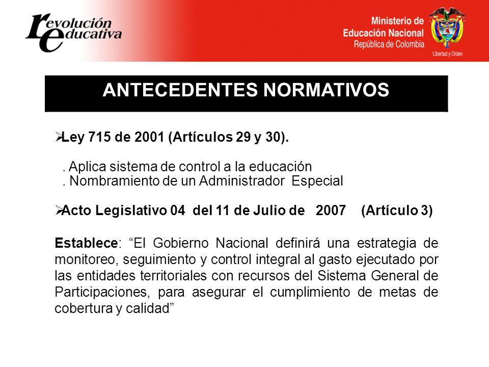 ESTRATEGIA DE MONITOREO, SEGUIMIENTO Y CONTROL A L SISTEMA GENERAL DE PARTICIPACIONES SGP Subdirección de Fortalecimiento S.E.