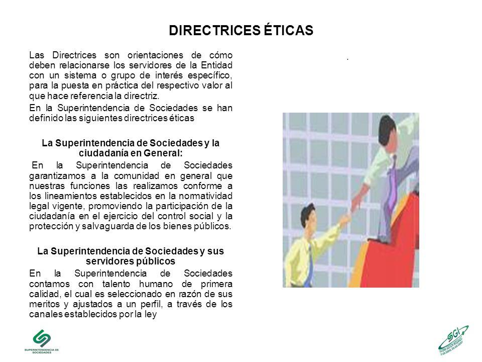 DIRECTRICES ÉTICAS.