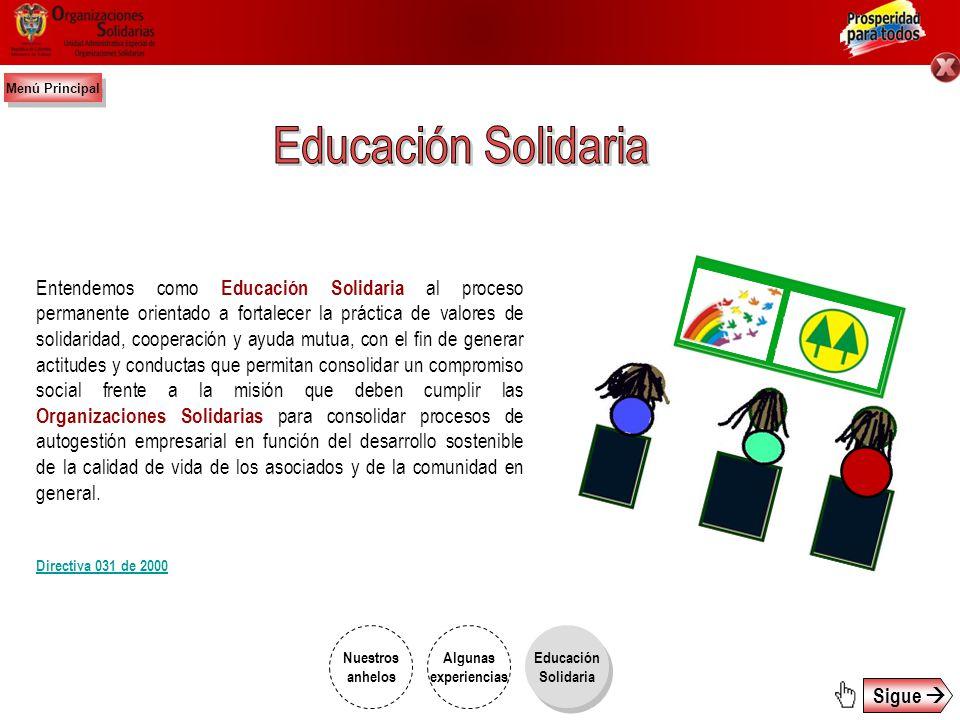 http://www.organizacionessolidarias.gov.co Colombia Solidaria - Cap. 1 Cooperativas Colombia Solidaria – Cap. 2 Fondos de Empleados Videos de la Unida