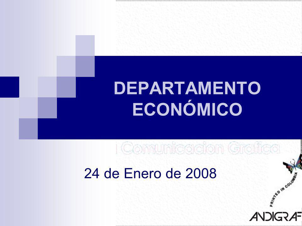 DEPARTAMENTO ECONÓMICO 24 de Enero de 2008