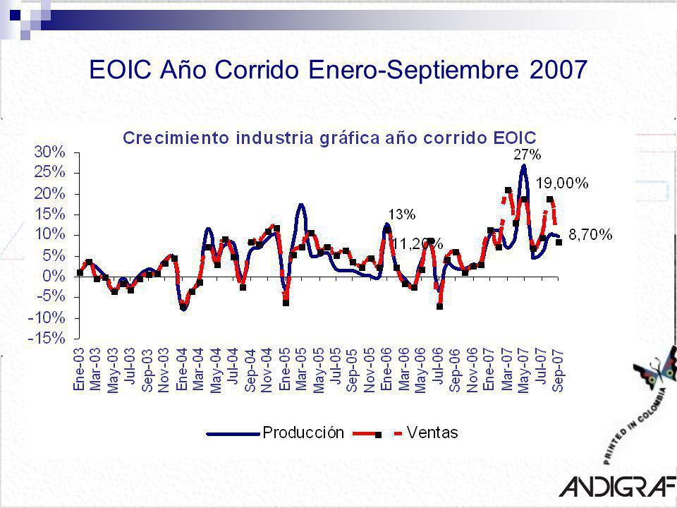 EOIC Año Corrido Enero-Septiembre 2007