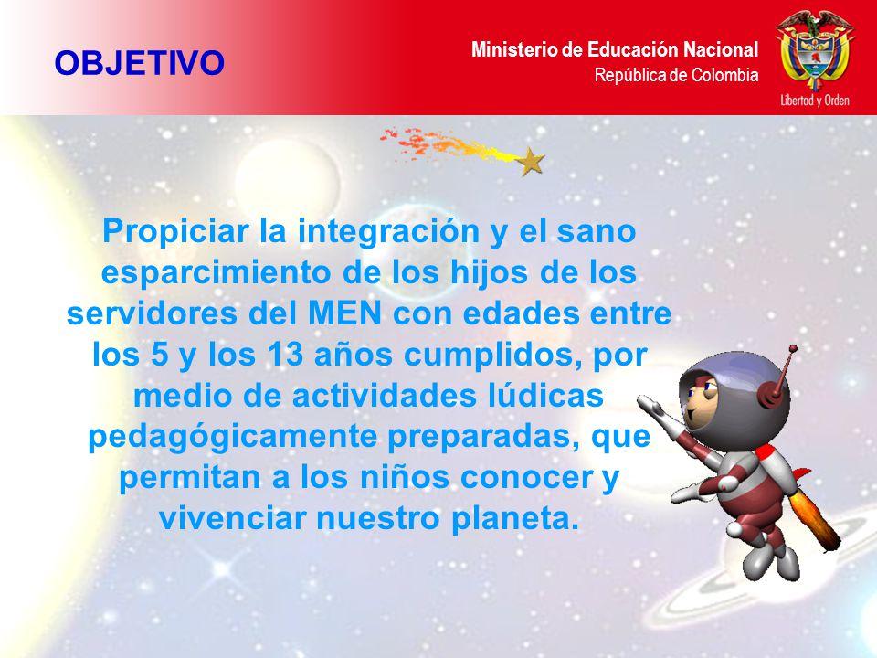 Ministerio de Educación Nacional República de Colombia CUR de Compensar Taller: Moldeo mis sueños en mi planeta PROGRAMA Mis manos creadoras Construyendo mi maravilloso planeta Mi planeta y Yo… uno somos