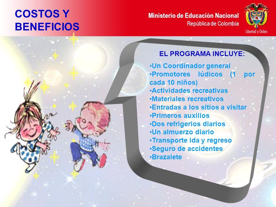 Ministerio de Educación Nacional República de Colombia Entregar e la Subdirección de Talento Humano al Profesional Alberto Virgüez, antes del las 12:00 m.
