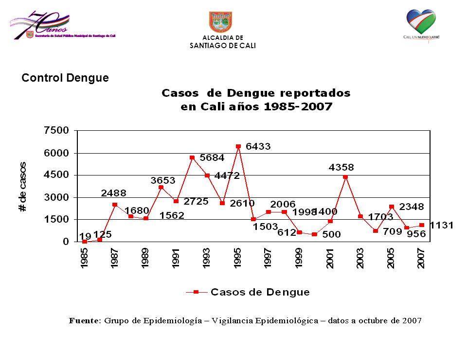 ALCALDIA DE SANTIAGO DE CALI Control Dengue
