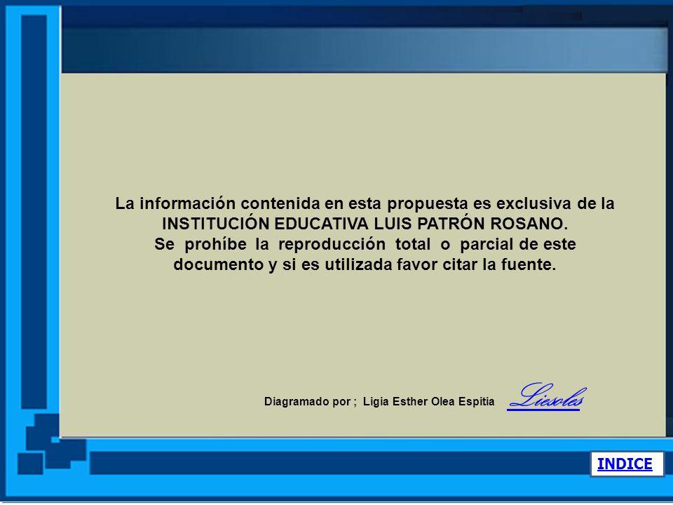 www.ieluispatronrosano.santiagodetolu- sucre.gov.co Consulte en nuestra Web www.ieluispatronrosano.santiagodetolu-sucre.gov.co INDICE