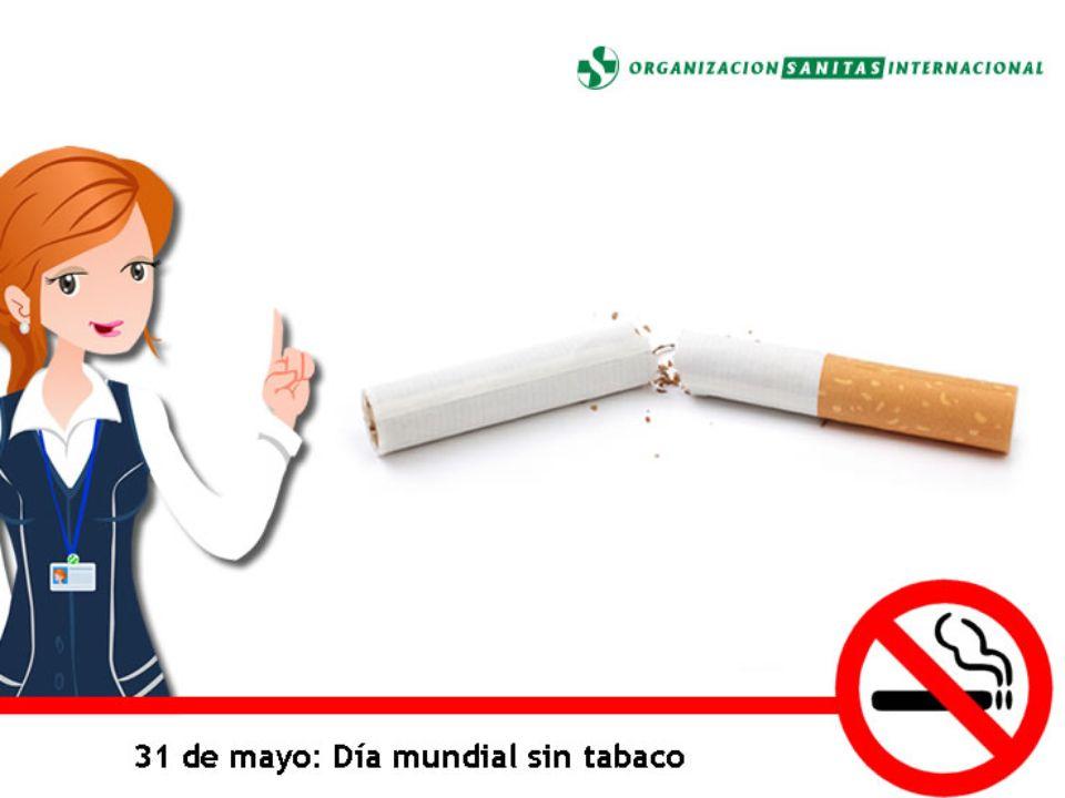 Día Mundial Sin Tabaco El Día Mundial Sin Tabaco tiene el propósito de fomentar un período de 24 horas de abstinencia de todas las formas de consumo de tabaco alrededor del mundo.