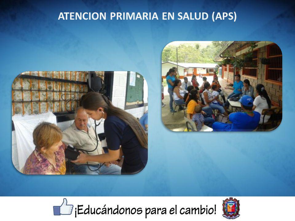 ATENCION PRIMARIA EN SALUD (APS)