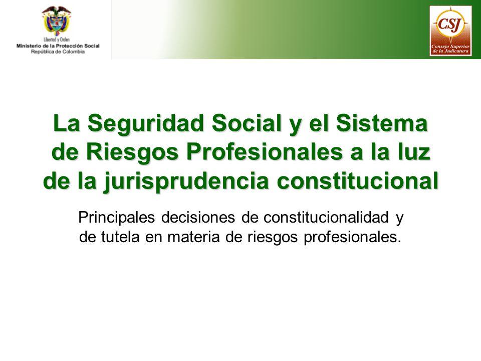 Jurisprudencia constitucional Sentencias emitidas por la Corte Constitucional con ocasión del ejercicio de la acción pública de inconstitucionalidad