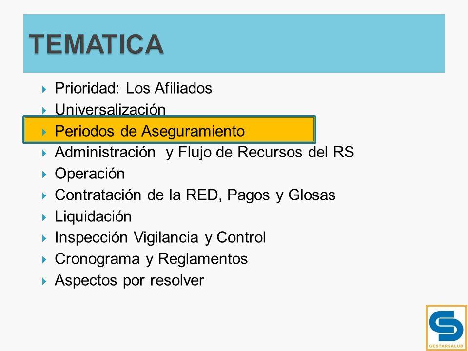 Se eliminan los contratos de aseguramiento del Régimen Subsidiado.