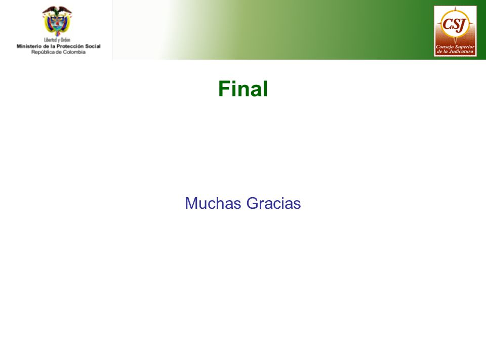 Final Muchas Gracias
