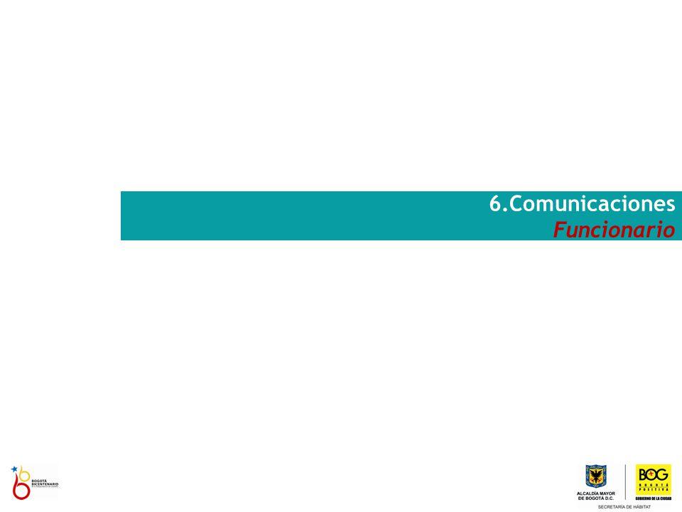 6.Comunicaciones Funcionario