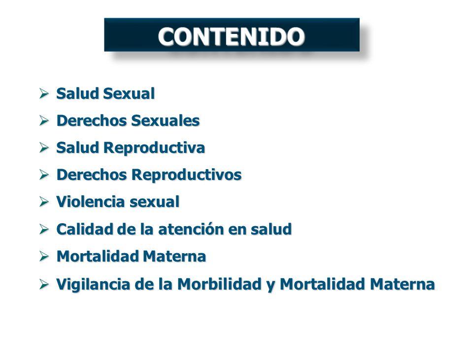Salud Sexual Salud Sexual Derechos Sexuales Derechos Sexuales Salud Reproductiva Salud Reproductiva Derechos Reproductivos Derechos Reproductivos Viol