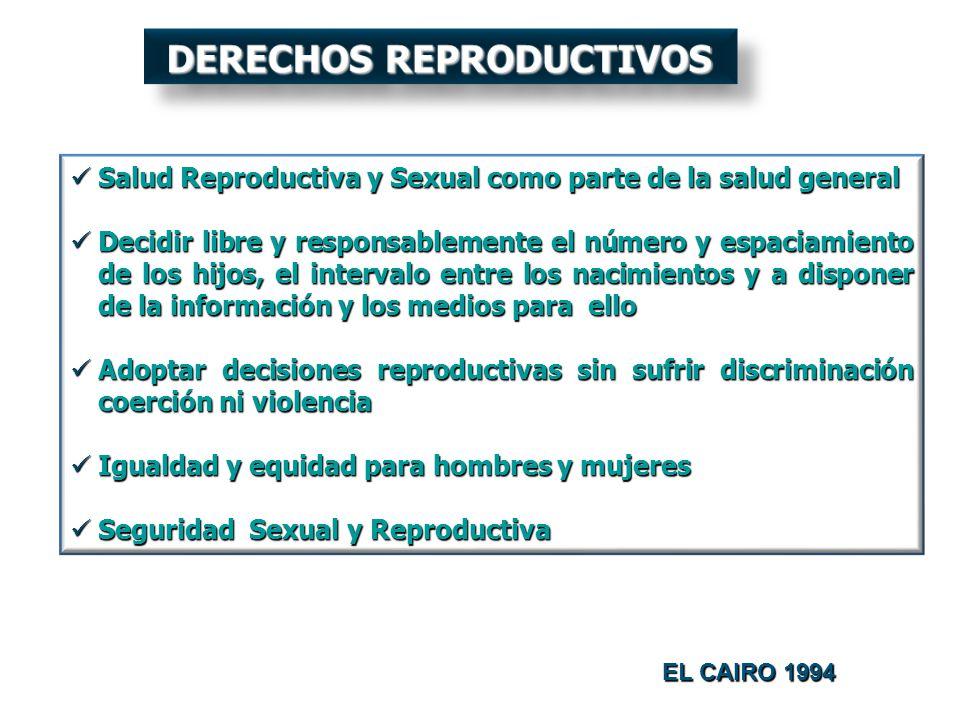 Salud Reproductiva y Sexual como parte de la salud general Salud Reproductiva y Sexual como parte de la salud general Decidir libre y responsablemente