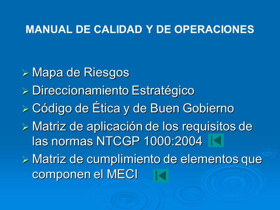 Etapa 1Etapa 2Etapa X ENTRADASSALIDAS Descripción, interacción Procesos del SGC SGC Alcance, exclusiones Incluye, o referencia Mantener MANUAL DE CALI