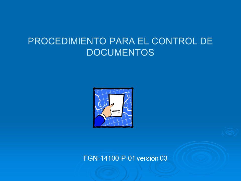 PROCEDIMIENTOS OBLIGATORIOS Control de documentos Control de documentos Control de registros (Guía) Control de registros (Guía) Auditorias internas Au