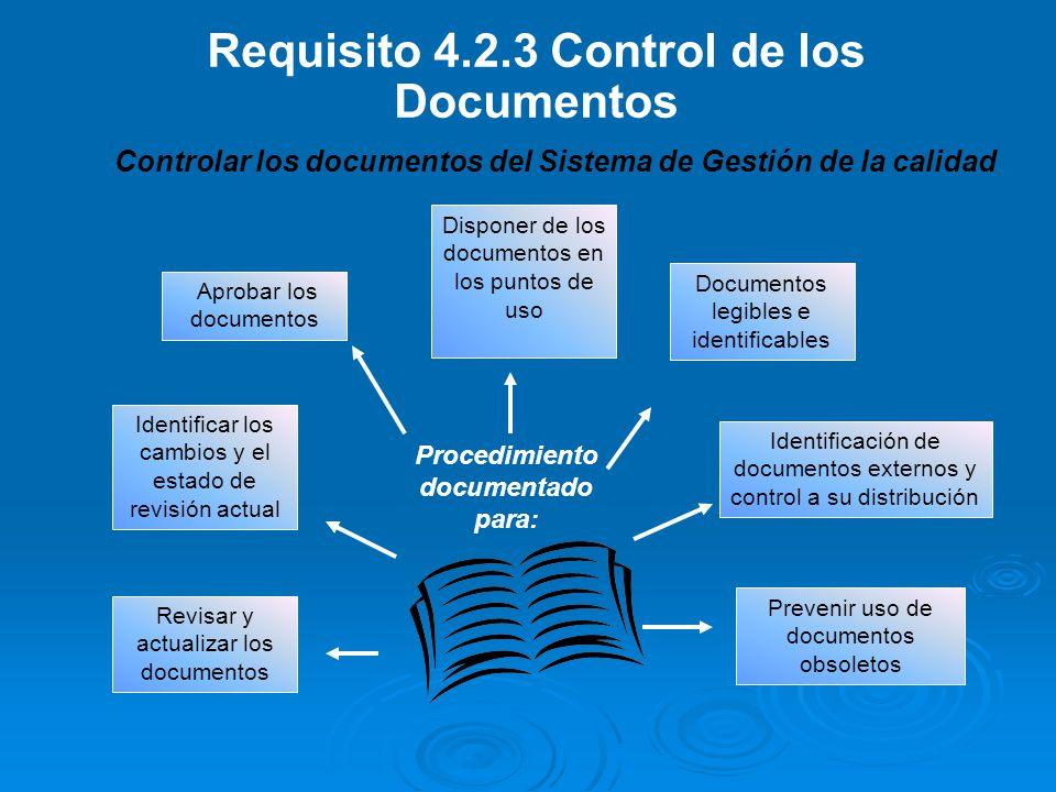 PROCEDIMIENTO PARA EL CONTROL DE DOCUMENTOS FGN-14100-P-01 versión 03
