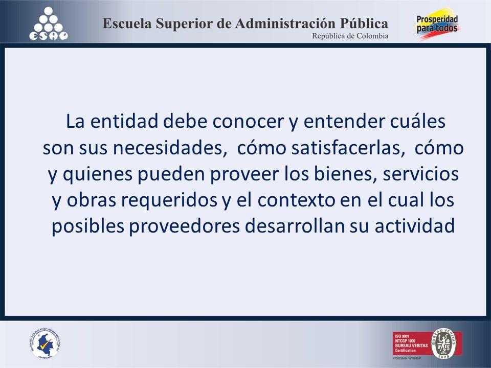 ANALISIS DEL SECTOR ECONÓMICO Y DE LOS OFERENTES (Artículo 15 del Decreto 1510 de 2013 Obligación entidades públicas desde perspectivas legal, comerci