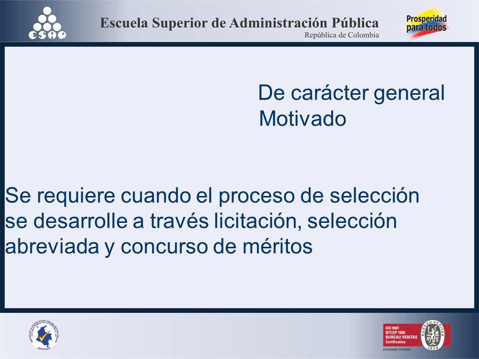 ACTO ADMINISTRATIVO DE APERTURA Normatividad: artículos 30 # 1 de la Ley 80 de 1993 y 24 del Decreto 1510 de 2013