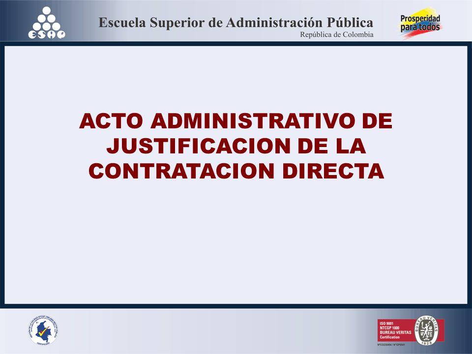 REVOCATORIA ACTO ADMINISTRATIVO APERTURA Artículo 93 ordinal 2º del Nuevo Código de Procedimiento Administrativo y de lo Contencioso Administrativo -