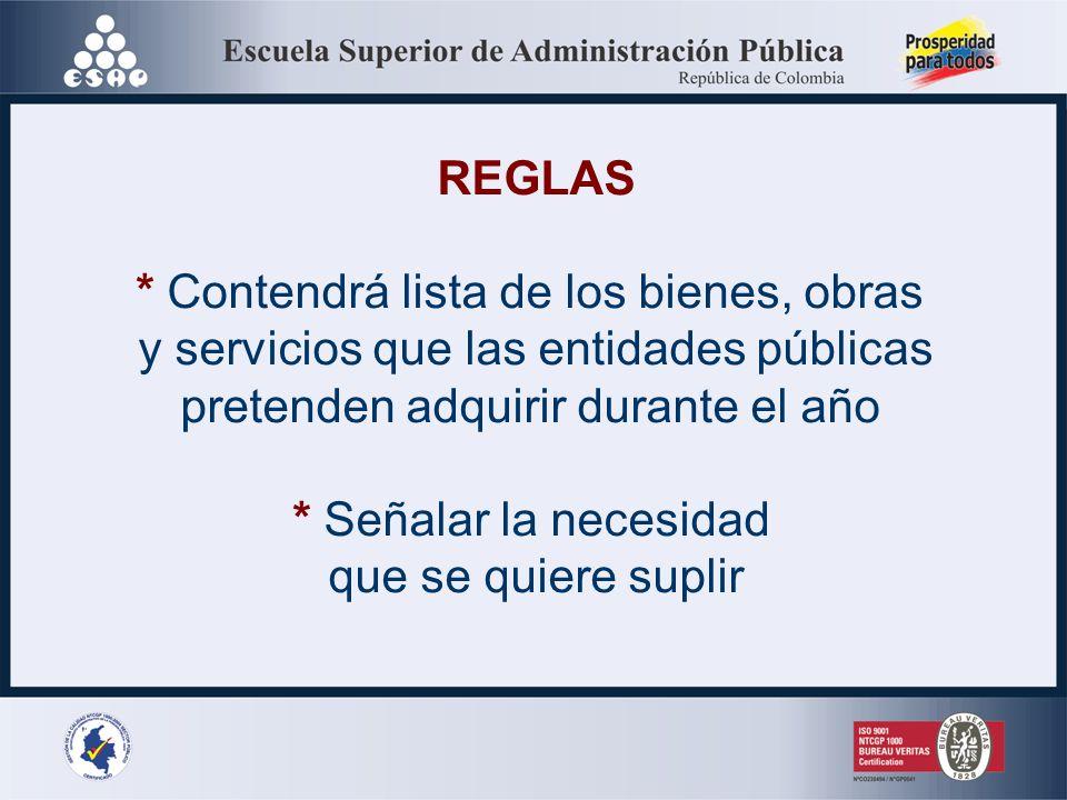 UTILIDAD * Identificar y justificar el monto de los recursos requeridos ** Referente inicial para evaluar ejecución presupuestal *** Pronosticar deman