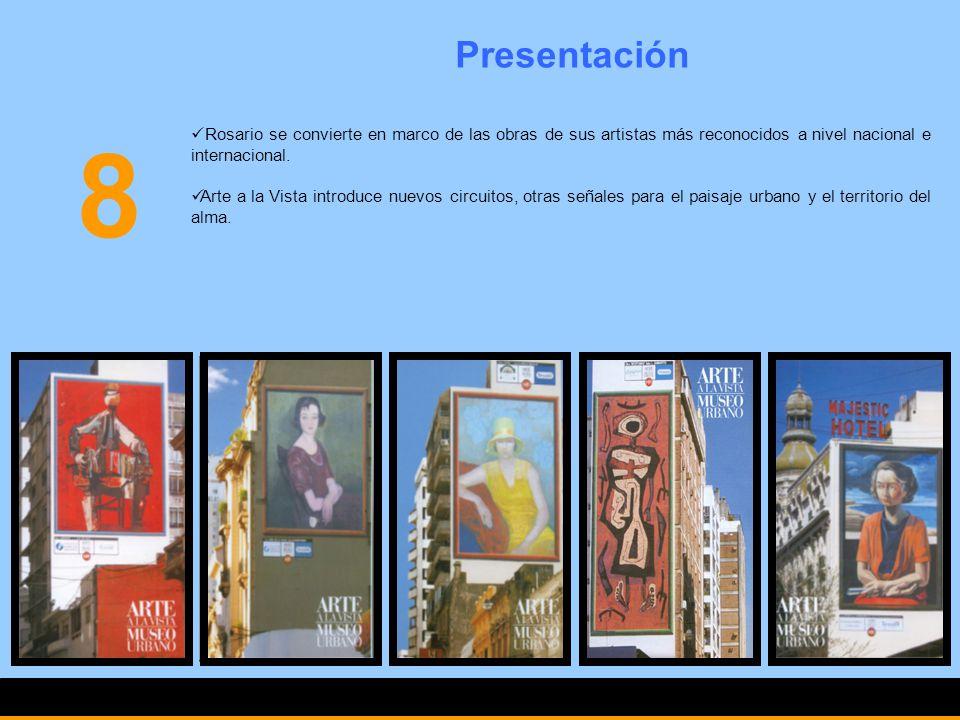 Presentación Rosario se convierte en marco de las obras de sus artistas más reconocidos a nivel nacional e internacional. Arte a la Vista introduce nu