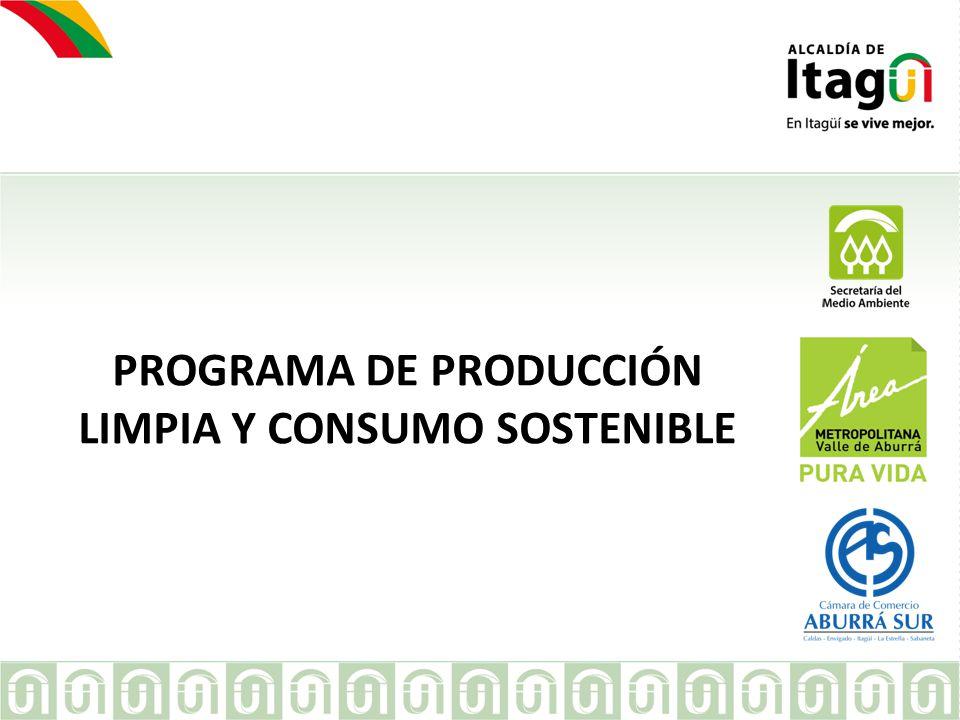 META PLAN DE GESTIÓN PURA VIDA 2012-2015: 2800 empresas atendidas desde Producción Limpia y Consumo Sostenible.