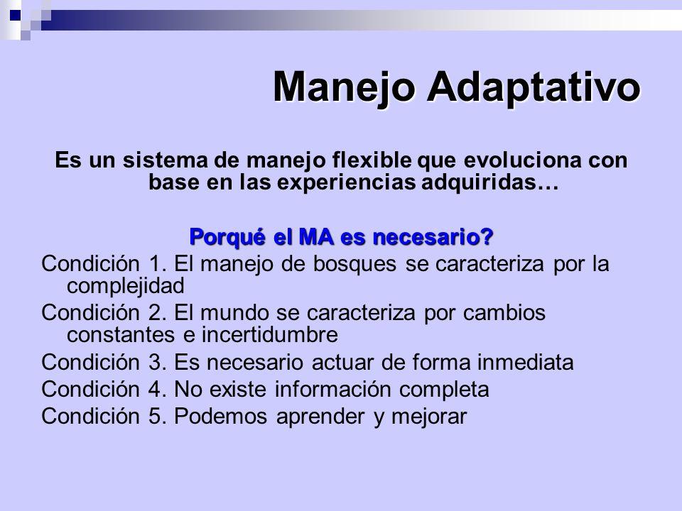 MANEJO FORESTAL DIVERSIFICADO Implica la producción de múltiples productos y servicios del bosque, respetando el potencial de los bosques y las necesidades de los usuarios, siendo las prioridades de producción basadas en los objetivos y la información disponible (Orozco, 2004).