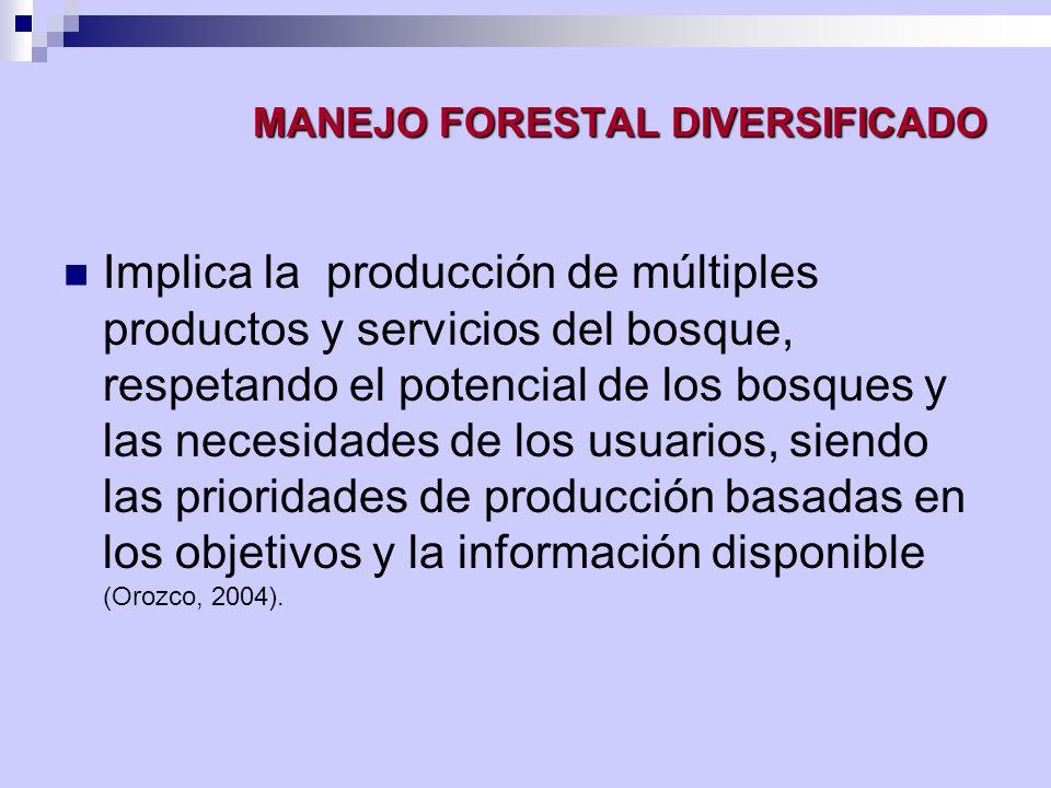 Criterios e Indicadores para la Ordenación Forestal Sostenible CRITERIO 6.