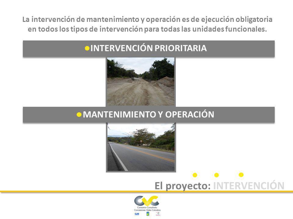 El concesionario deberá ejecutar un conjunto de obras tendientes a llevar la vía a sus condiciones iniciales de construcción, con el propósito que se