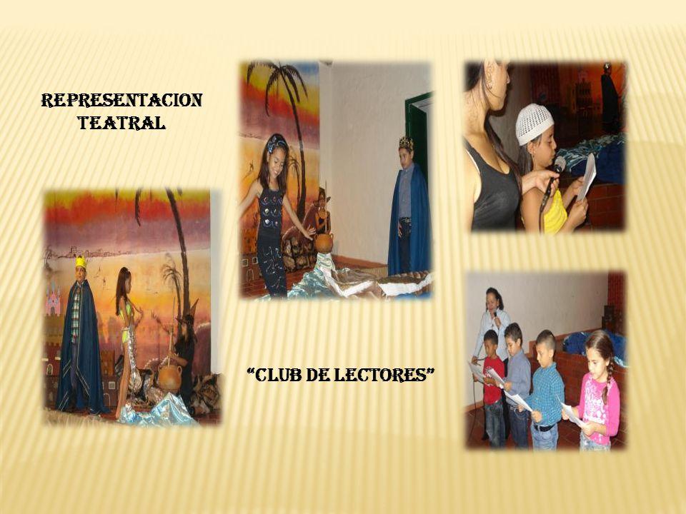 REPRESENTACION TEATRAL CLUB DE LECTORES